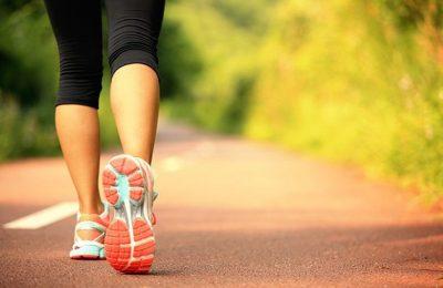 đi bộ nhiều có to chân không